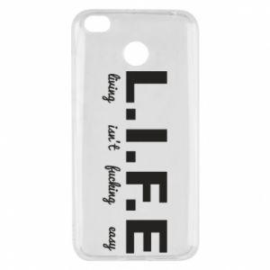 Xiaomi Redmi 4X Case L.I.F.E