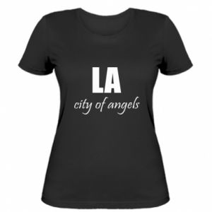 Women's t-shirt LA city of angels