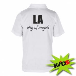 Children's Polo shirts LA city of angels - PrintSalon