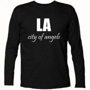 Long Sleeve T-shirt LA city of angels