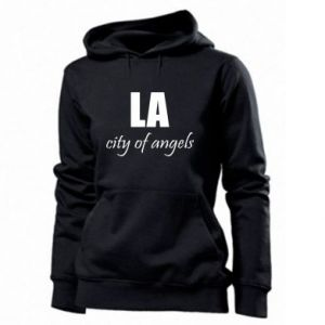 Women's hoodies LA city of angels - PrintSalon