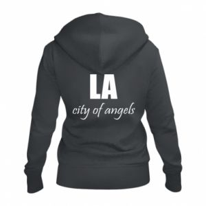 Women's zip up hoodies LA city of angels - PrintSalon