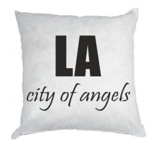 Pillow LA city of angels