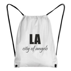 Backpack-bag LA city of angels - PrintSalon