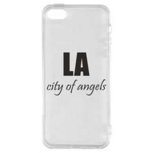 Phone case for iPhone 5/5S/SE LA city of angels