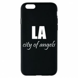 Phone case for iPhone 6/6S LA city of angels - PrintSalon