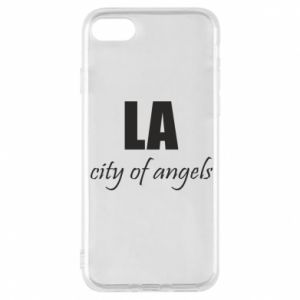Phone case for iPhone 8 LA city of angels