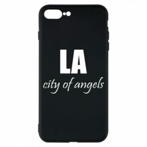 Phone case for iPhone 8 Plus LA city of angels - PrintSalon