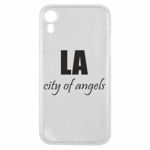 Phone case for iPhone XR LA city of angels