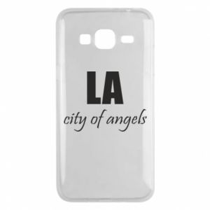 Phone case for Samsung J3 2016 LA city of angels