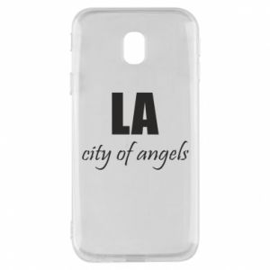 Phone case for Samsung J3 2017 LA city of angels - PrintSalon