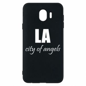 Phone case for Samsung J4 LA city of angels