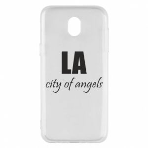 Phone case for Samsung J5 2017 LA city of angels - PrintSalon