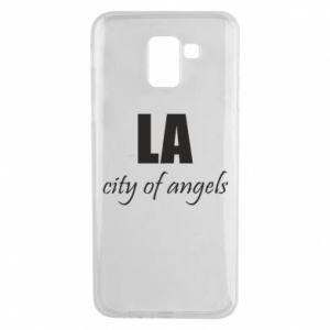 Phone case for Samsung J6 LA city of angels - PrintSalon