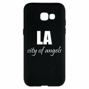 Phone case for Samsung A5 2017 LA city of angels - PrintSalon