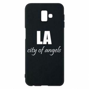 Etui na Samsung J6 Plus 2018 LA city of angels