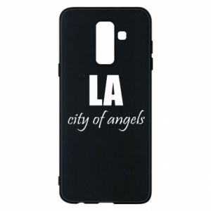 Phone case for Samsung A6+ 2018 LA city of angels