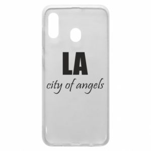 Phone case for Samsung A20 LA city of angels