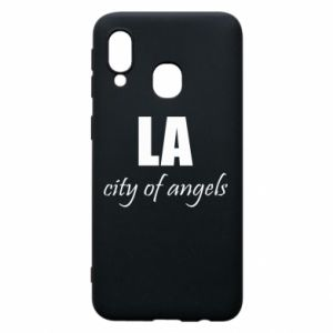 Phone case for Samsung A40 LA city of angels