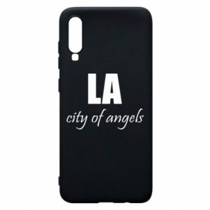 Phone case for Samsung A70 LA city of angels - PrintSalon