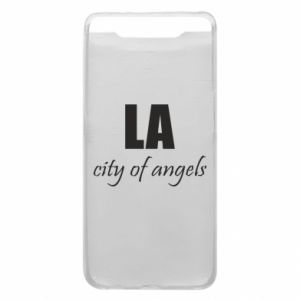 Phone case for Samsung A80 LA city of angels