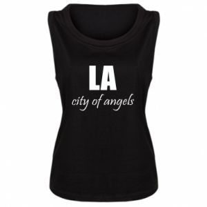 Women's t-shirt LA city of angels - PrintSalon
