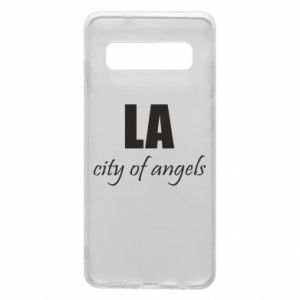 Phone case for Samsung S10 LA city of angels - PrintSalon