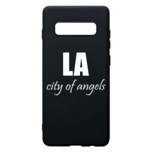 Phone case for Samsung S10+ LA city of angels