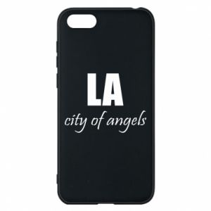 Phone case for Huawei Y5 2018 LA city of angels - PrintSalon