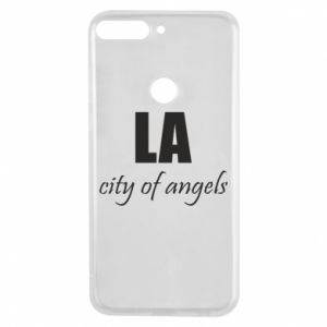 Phone case for Huawei Y7 Prime 2018 LA city of angels - PrintSalon