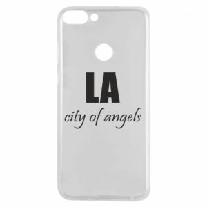 Phone case for Huawei P Smart LA city of angels - PrintSalon