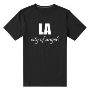 Men's premium t-shirt LA city of angels - PrintSalon