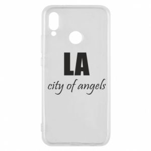 Phone case for Huawei P20 Lite LA city of angels - PrintSalon