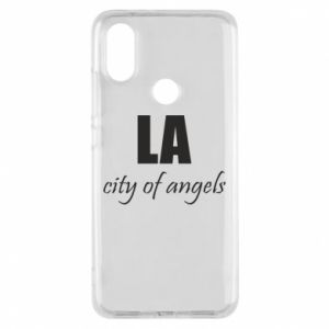 Phone case for Xiaomi Mi A2 LA city of angels - PrintSalon