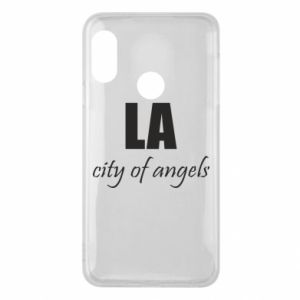 Phone case for Mi A2 Lite LA city of angels