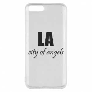 Phone case for Xiaomi Mi6 LA city of angels
