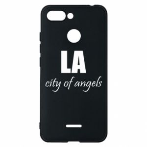 Phone case for Xiaomi Redmi 6 LA city of angels - PrintSalon