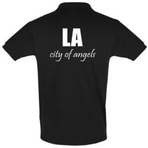 Men's Polo shirt LA city of angels - PrintSalon