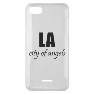 Phone case for Xiaomi Redmi 6A LA city of angels