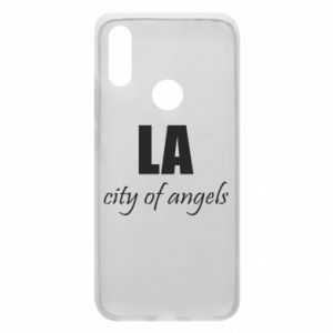 Phone case for Xiaomi Redmi 7 LA city of angels - PrintSalon