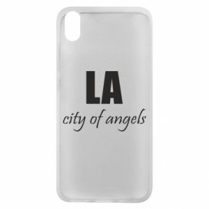 Phone case for Xiaomi Redmi 7A LA city of angels - PrintSalon