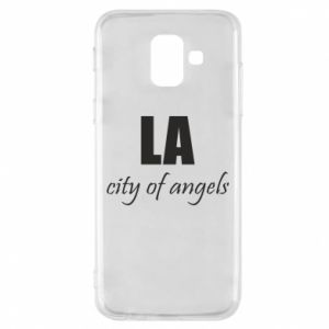 Phone case for Samsung A6 2018 LA city of angels