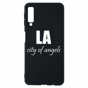 Phone case for Samsung A7 2018 LA city of angels