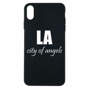 Etui na iPhone Xs Max LA city of angels