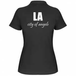 Women's Polo shirt LA city of angels - PrintSalon