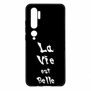 Etui na Xiaomi Mi Note 10 La vie est belle