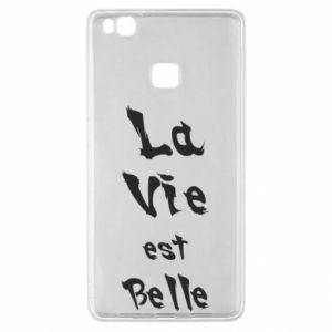 Etui na Huawei P9 Lite La vie est belle