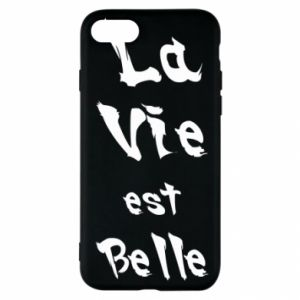 iPhone SE 2020 Case La vie est belle