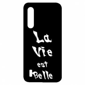 Etui na Xiaomi Mi9 Lite La vie est belle