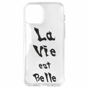 iPhone 12 Mini Case La vie est belle